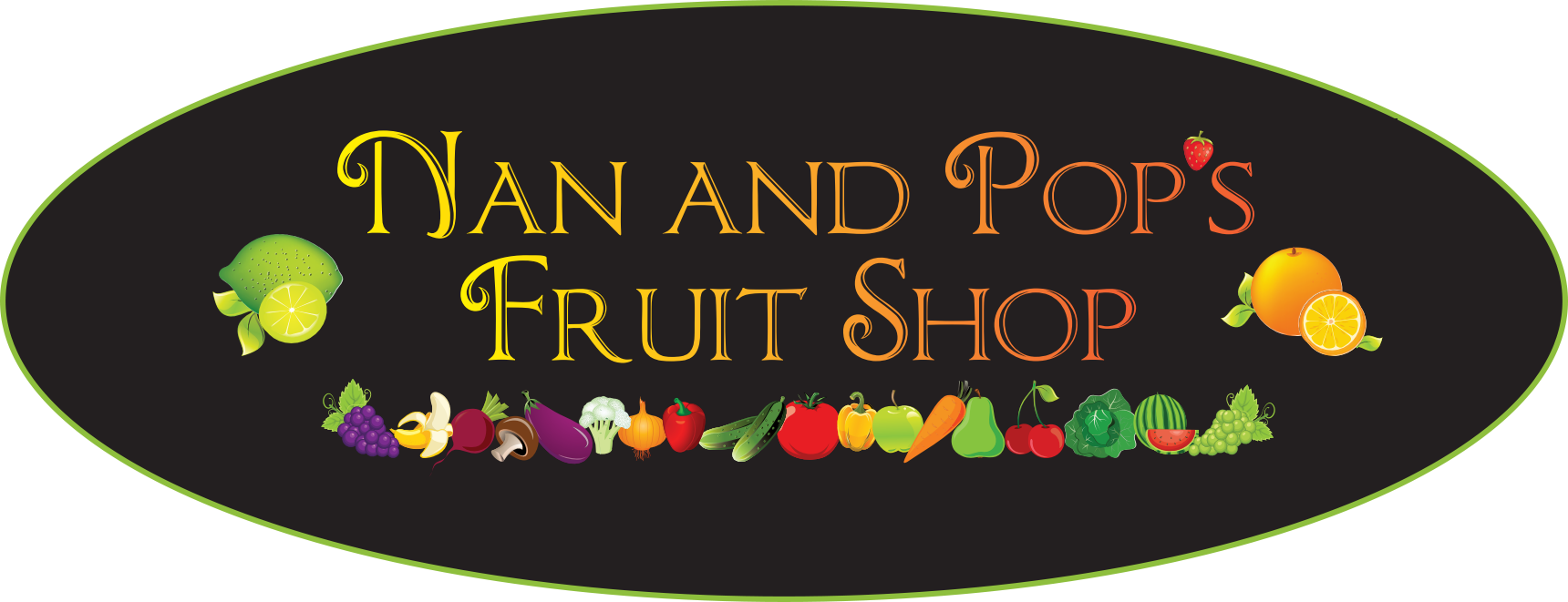 Delivery Van - Nan and Pop's Fruit Shop
